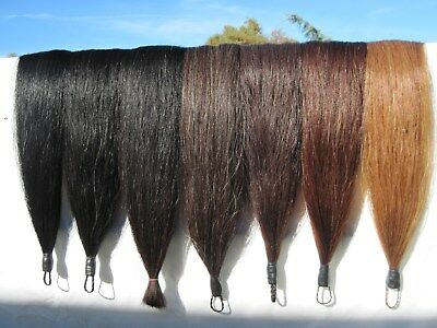 """HORSE TAIL EXTENSION Choice of Color 1/2# 36"""" New KATHYS TAILS AQHA USDF FEI"""