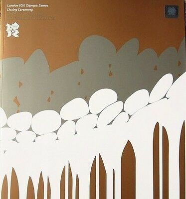 * London 2012 Olympic Games Closing Ceremony Programme *