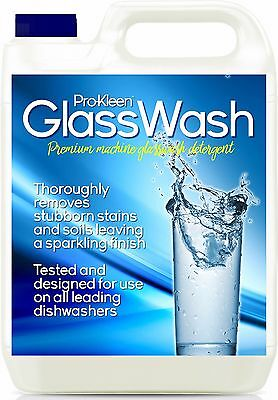 Pub Club Dish Machine Pot Glasswash Glass Wash Cleaner Detergent Sparkling Clean