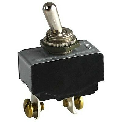 TOGGLE SWITCH 30 AMP/125V 2EA Screw Term ON/OFF Star Grilddle CG14 GR14 421589