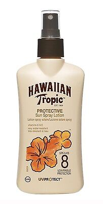 Hawaiian Tropic Sun protection Spray Lotion SPF 8