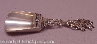 Antique 19th Century 800 Continental Silver Sugar Scoop