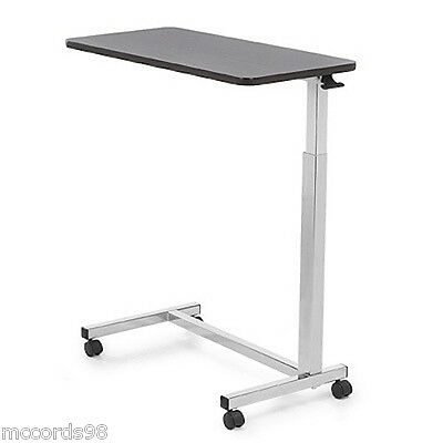 Invacare 6417 Hospital Over Bed Overbed Table  - Great for Laptop, TV w/Wheels