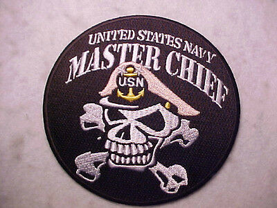 U.S. NAVY MASTER CHIEF PETTY OFFICER PATCH
