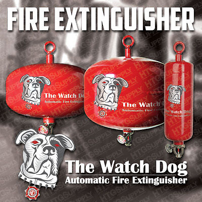 AUTOMATIC FIRE EXTINGUISHER 12 6 2 kg WATCHDOG DEFENDER GROW ROOM FLAME FIGHTER