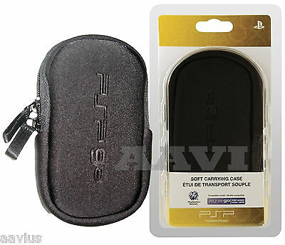 Sony PSP GO Soft  Padded Travel  Carrying Case Pouch Bag for PSP-N100 PSPGO