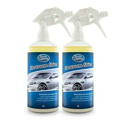 Greased Lightning | SHOWROOM SHINE 2 X 1L Wash & Wax CLEAN SHINE & PROTECT