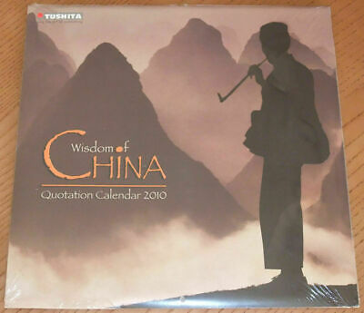 Calendar WISDOM OF CHINA 2010 Tushita Calendario (Calendar in English) AA1