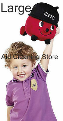 Large Henry Huggable Plush Vacuum Cleaner Hoover Casdon Kids Role Play Soft Toy