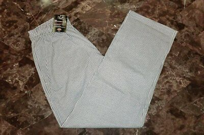 Dickies Chef Collection Houndstooth Chef Pant Sz XL NWT