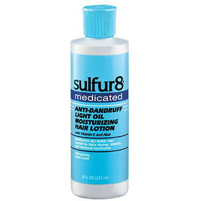 [Sulfur8] Medicated Anti-Dandruff Light Oil Moisturizing Hair Lotion 8Oz