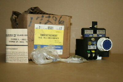 Timer attachment Pneumatic 60 second 8501 LT Square D Unused