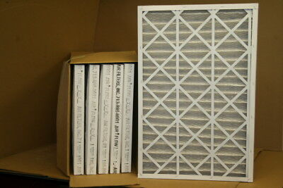 Air filter pleated 20 x 30 x 2 Air Filters Inc 2HYD5 Unused Lot of 6