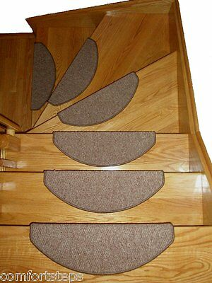 Set of 15 Carpet Stair Rugs Treads Runners  for Narrow Steps