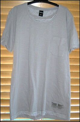 BNWOT Mens M 97 MAXX Brand 100% Cotton T-Shirt Grey