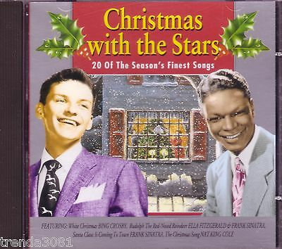 Christmas with Stars 20 Seasons Finest Songs Rosemary Clooney Bing Crosby Rare