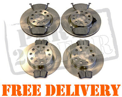 VW Golf Mk5 V Front And Rear Brake Discs And Pads Pair Part Kit 2003-2009