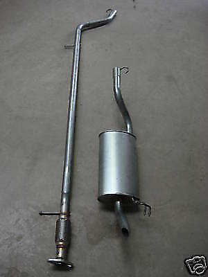 Fiat Punto Centre & Rear Exhaust Sections 1.2 8V 01/2001- Spare Replacement