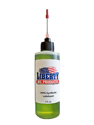 4 Ounce Bottle of Synthetic Oil for lubricating Arcade and Pinball Machines