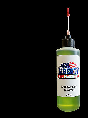 Synthetic Oil for your Seth Thomas clocks moving parts-4oz Bottle