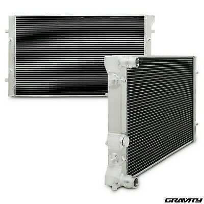 42mm ALLOY RACE SPORT RADIATOR RAD FOR VW GOLF BORA MK4 1.8T GTI TDI 4MOTION