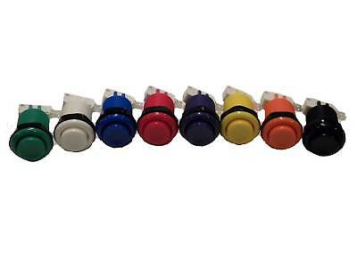 New Happ Arcade Buttons Any Color Or Plr Mame Multicade