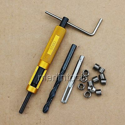 Helicoil Thread Repair Kit M8 x 1 Drill and Tap Insertion tool