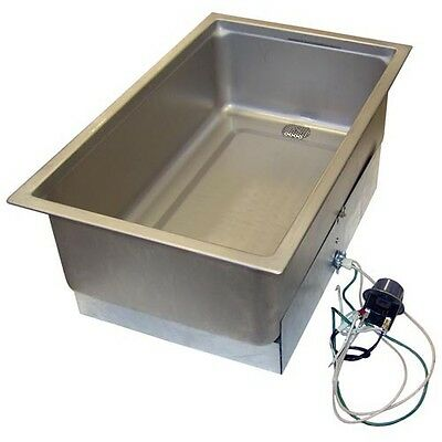 HOT FOOD WELL Bottom mount steam table Wells 20522 SS206ED  208/240V 761091