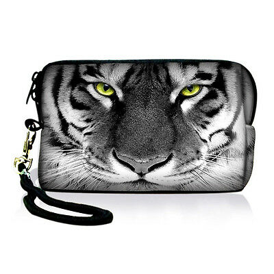 Tiger Cellphone Small Case Bag Pouch For iPhone 4/4S / iPhone 5 / Digital Camera