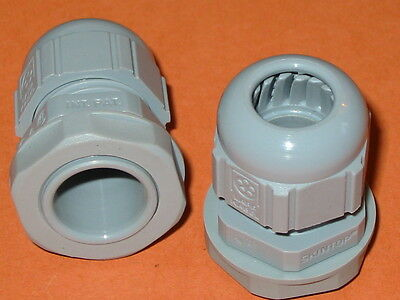12mm LAPP POLYMIDE CABLE GLANDS  PG13.5  QTY = 2