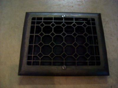 Heavy honeycomb wall mount heating grate (G 477)