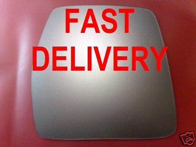 Right Driver Side WING DOOR MIRROR GLASS For Citroen Dispatch 1995-2007 Stick On