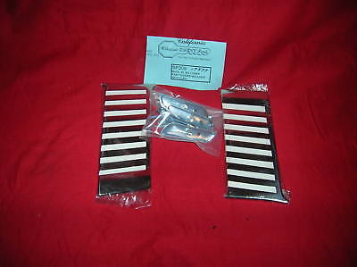 '55 Belair Lower Paint Divider Mouldings w/Clips