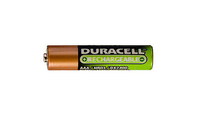 16 x AAA 800 mAh NiMH Duracell Rechargeable Batteries