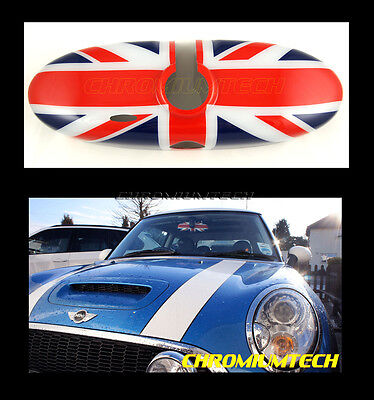 MK2 MINI Cooper/S/ONE R55 R56 R57 R60 R61 UNION JACK Rear View MIRROR Cover
