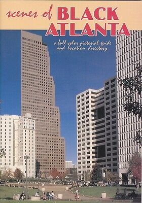 """1989 """"Scenes of Black Atlanta"""" 50 Page Book Directory Martin Luther King,Jr."""