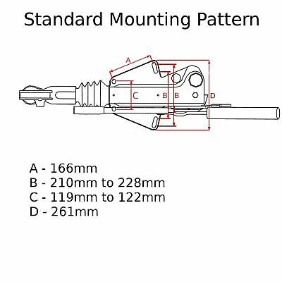 Trailer Braked Hitch / Coupling 3500kg by Bradley for 50mm Tow Balls / Bars