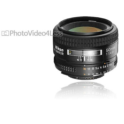 NEW Nikon Normal 50mm f/1.4D AF Nikkor Autofocus Lens 50 mm 1.4 D