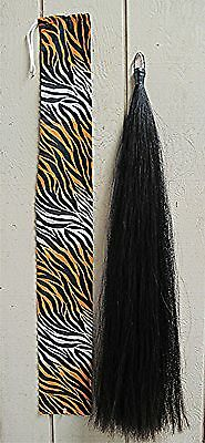 NEW Tail Extension BLACK 1/2lb KATHYS TAILS AQHA APHA USDF FEI Free Ship & Bag