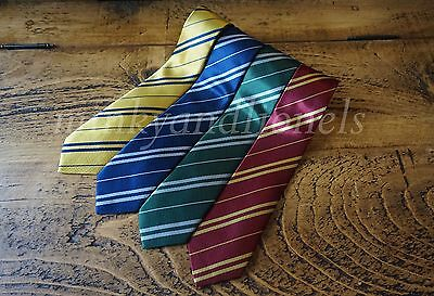 Harry Potter Style House Ties Fancy Dress Cosplay Film Replica World Book Day