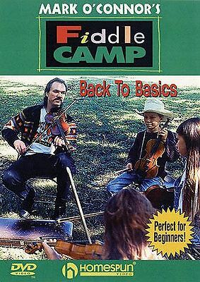 Mark O'Connor's Fiddle Camp Back To Basics Learn to Play Violin Music DVD