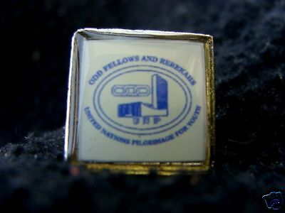 Odd Fellows Rebekahs Pilgrimage for Youth Pin Tie Pins