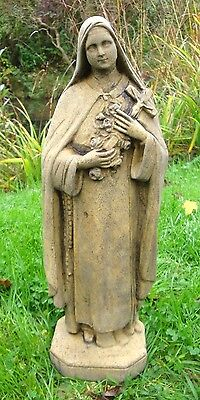 St. Theresa Religious Statue The Little Flower 43Cm H Home Or Garden Ornament
