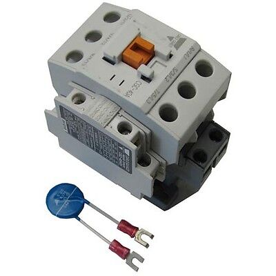 """CONTACTOR 3 POLE 240V 40AMP 1-1/4"""" X 2-1/8"""" MT CTRS for Blodgett 38559 441343"""