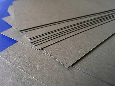 Chipboard Boxboard Cardboard A5 148x210mm 20 Sheets Packaging THICK Photo Packin