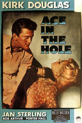 """THE SCAR film noir movie poster /""""his scar marked them both/"""" spooky 24X36"""