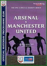 * 1999 CHARITY SHIELD - ARSENAL v MAN UTD *