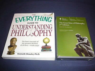 Teaching Co Great Courses  DVDs         GREAT IDEAS of PHILOSOPHY    new + BONUS