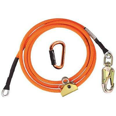Arborist Climbers 8' Wire Core Flipline Kit Includes Carabiner and Adjuster NEW