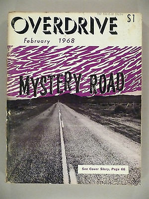 Overdrive Magazine - February, 1968 ~~ The Voice of the American Trucker